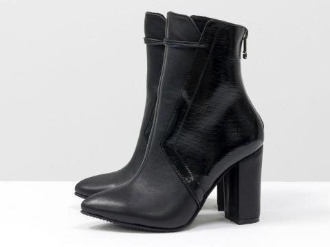 Женские классические ботинки на шнуровке ,Д-30-01